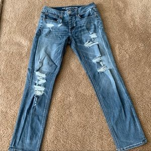 American Eagle Tomgirl Jeans sz 2